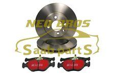 SAAB 9-3 08-12 TURBO X EBC FRONT BRAKE KIT, DISCS & PADS, 93188445 93195754