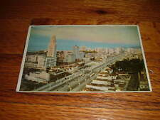 Vintage AV PRESIDENTE VARGAS Rio De Janeiro BRASIL New POSTCARD Brazil Unused