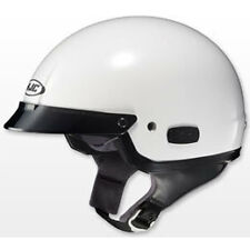 HJC IS-2 Motorcycle Half Helmet White Adult Size XSmall 0823010903