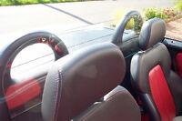 Windschott SLK R 170,Orginal  Car Glas, Echtglas, TÜV
