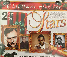 CHRISTMAS WITH THE STARS 2CD Set 40 Songs  Bing Crosby Platters Sinatra