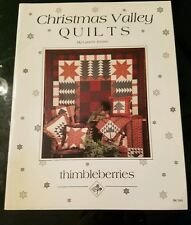 Thimbleberries: Christmas Valley Quilts by Lynette Jensen BK045 paperback 24 pgs