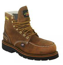 "NEW 10.5D Thorogood 804-3696 Mens 6"" Waterproof Leather Moc Steel Toe Work Boots"
