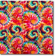 "Tie Dye Design Gift Wrap - 20 ft Roll - 30"" wide - 50 Sq Ft"