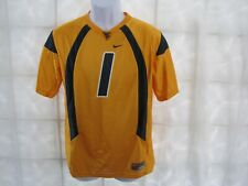 NIKE YOUTH WEST VIRGINIA MOUNTAINEERS #1 REPLICA FOOTBALL JERSEY SIZE L 16 / 18
