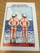 Collectable Funny Postcard Unused By Sapphire Risqué Humour No.200
