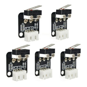 5PCS Limit Switch 3Pin N/O N/C Control  Micro Switch 3D for CR-10 Series Ender 3