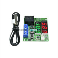DC 12V Digital Dual LED Cycle Timing Delay Timer Relay Module Clock Controller