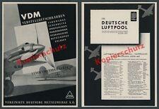 VDM industria aeronáutica Junkers Ju 87 Stuka verstellpropeller aviación Frankfurt 1941
