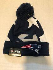 New Era New England Patriots Whiz III 3 Cuff Knit Beanie Hat