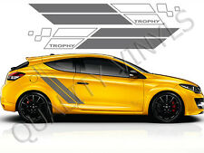 RS110 Renault Megane Trophy Racing Side Stripes Graphic Decal Stickers