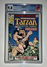 Tarzan #1 CGC 9.8 White Pages (1977, Marvel) Beauty