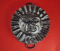 Vintage Cast Iron sun pan - Sun mold baking pan  (# 12140)