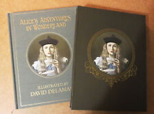 Alice in Wonderland Book Limited Edition + Art Print Lewis Carroll RARE