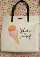 Kate Spade What's the Scoop Ice Cream Tote Bag Bon Shopper Flavor of the Month