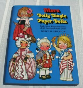 More Dolly Dingle Paper Dolls Reproduction 30 Antique Paper Dolls Drayton