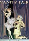 Framed canvas art print Giclee Pierrot and Columbine, Vanity Fair magazine cover