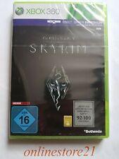 The Elder Scrolls V Skyrim Xbox 360 NEUF SEALED