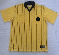 c62608e87 TEAM REF Soccer Referee Jersey Yellow Black Adult 2XL XXL
