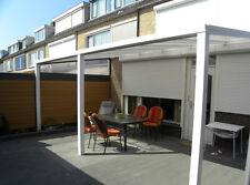 Terrassenüberdachung Aluminium mit Polycarbonat-Platten 16mm