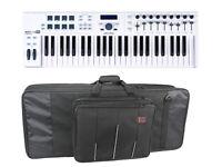 Arturia KeyLab 49 Essential 49 Key MIDI Controller Keyboard with Keyboard Bag