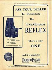 Thornton Pickard Altrincham England The two Movement Reflex Klapp- Kamera 1920