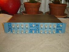 "Orban 642B Blueface 1/4"" In/out, Stereo 4 Band Parametric Equalizer, Eq, Vintage"