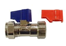 Washing Machine Tap Valve With Check Valve 15mm x 3/4 Inch