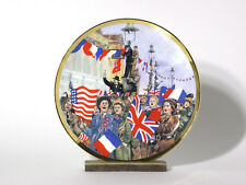 50th Anniversary V.E. Day Plate and Stand