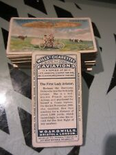 "WILLS "" AVIATION 1910"" [s] V NICE CLEAN  FULL SET [sl]"