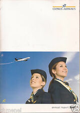 CYPRUS AIRWAYS 2007 SCARCE ANNUAL REPORT & FINANCIAL STATEMENTS in ENGLISH