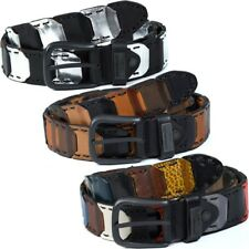 CIPO & BAXX Cinturón de Hombre Cuero Real