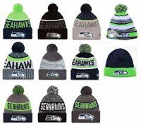 Seattle Seahawks Cuffed Beanie Knit Winter Cap Hat NFL Authentic