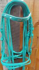Designed Synthetic Nylon Web Bridle and Reins Full/Cob/Pony/Shetland M.Washable