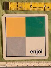 Vintage Skateboarding Sticker - Enjoi Skateboards - Squares 1