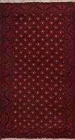Geometric Balouch Afghan Oriental Area Rug Hand-Knotted Wool Tribal Carpet 4x7