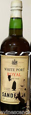 vin Porto SANDEMAN White Port ROYAL Finest Pale bouteille 70cl Portugal wine