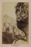 Chabet-El-Ahkra I Gorges Foto P15Ln58 Vintage Albumina