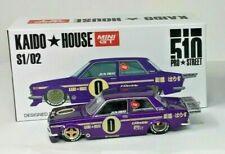 Kaido House Mini Gt 1971 71 Datsun 510 Collectible Import Race Car -Purple, Mib