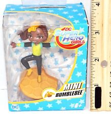 """BUMBLEBEE 2.5"""" MINI TOY ACTION FIGURE FROM DC SUPER HERO GIRLS TV SHOW 2016 NEW"""