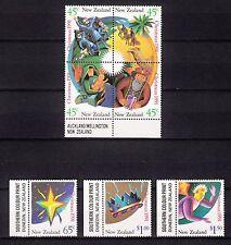 103246/ Neuseeland 1991 - Mi 1201/7 - Weihnachten - **
