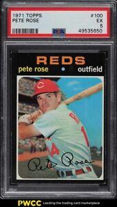 1971 Topps Pete Rose #100 PSA 5 EX