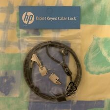 New HP Keyed Cable Lock - SEALED