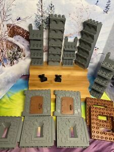 LEGO DUPLO CASTLE PARTS MIXED LOT