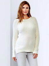 fb201737cb69d White Maternity Sweaters | eBay