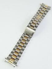 Rare Seiko 20 mm Gold & Steel Bracelet . Original aprox 15cm long