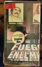 FUEGO EN EL MAR. MANUEL OJEDA, NORMA HERRERA, JOSE RUIZ..  RARE SPANISH VIDEO