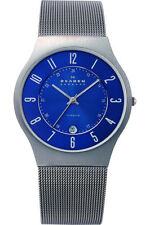 Skagen Men's 233XLTTN Grenen Grey Titanium Mesh Watch