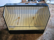 Finch Canary Budgie show cage/box , transport travel cage, good used condition.