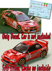 Decal 1:43 Bert de Jong - SUBARU IMPREZA WRC - Rally El Corte Ingles 2000